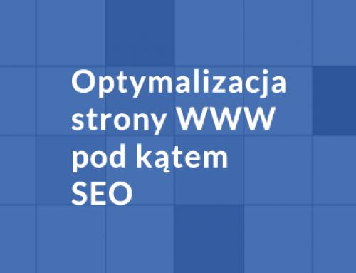 Optymalizacja strony www pod kątem SEO