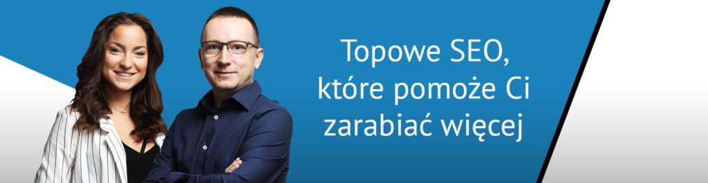 Paweł Gontarek, SEO Director, Agnieszka Zamęcka, Account Director